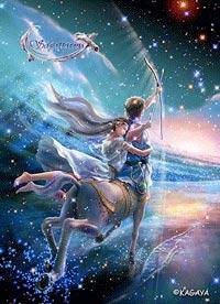 Стрелец - девятый знак зодиака: Солнце в стихии огня